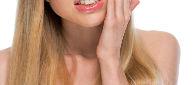 Dente devitalizzato sensibile alla pressione