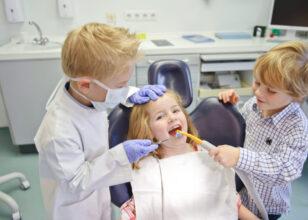 Quando portare i bambini dal dentista?